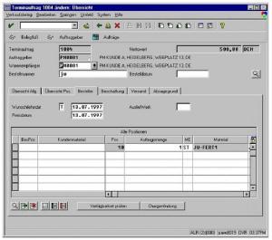 SAP Versions (Option F)
